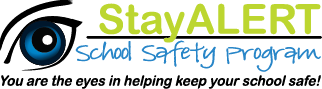 Stay Alert School Safety. Report Bullying.