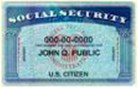 Social Security Card Example Image